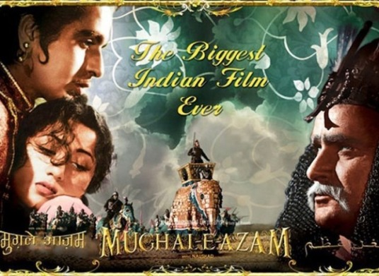 Mughal-e-Azam (1960) More than fifty years ago, when filmmaker K Asif made this spectacular celluloid gem, he set a benchmark that nobody has ever been able to meet, let alone cross it.