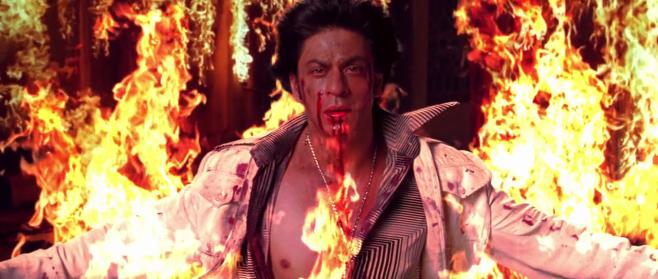SRK in Om Shanti Om
