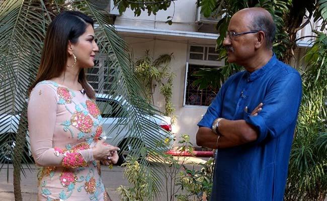 Sunny Leone walking the talk with Shekhar Gupta