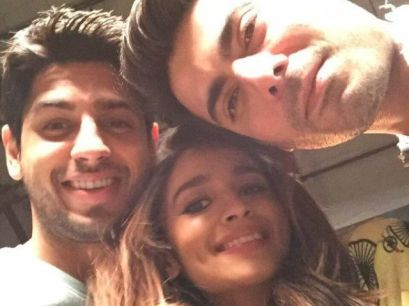 Kapoor and sons selfie