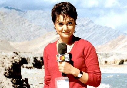 Preity Zinta's character in the film Lakshya was inspired by Barkha Dutt