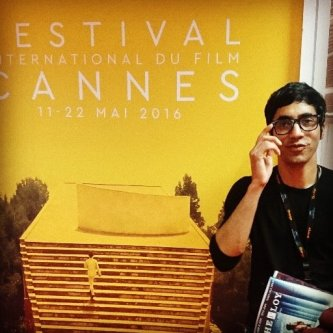 Arfi Lamba at this year's Festival de Cannes 2016