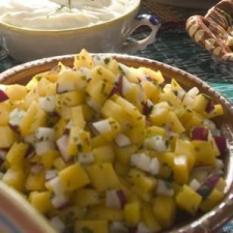 Mango Radish Salsa