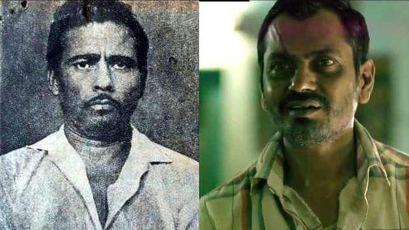 Nawazuddin Siddiqui plays the real-life serial killer Raman Raghav (left)