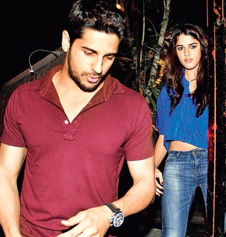 Sid with Isabelle