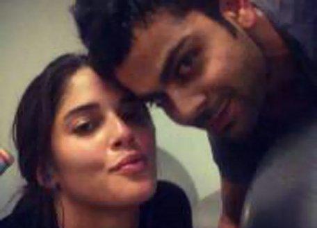 Isabelle with Virat Kohli