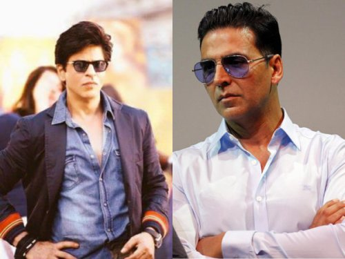 The outsiders in Bollywood: Akshay Kumar and Shah Rukh Khan