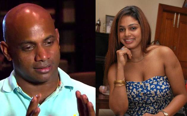 Sanath Jayasuriya and his ex-wife Maleeka Sirisenage