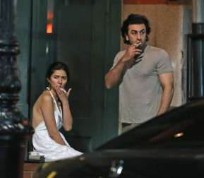 Mahira with Ranbir 5