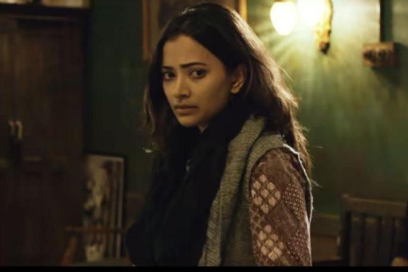 Sweta Basu Prasad in a still from the film 'The Tashkent Files'